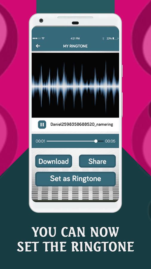 name ringtone mx player