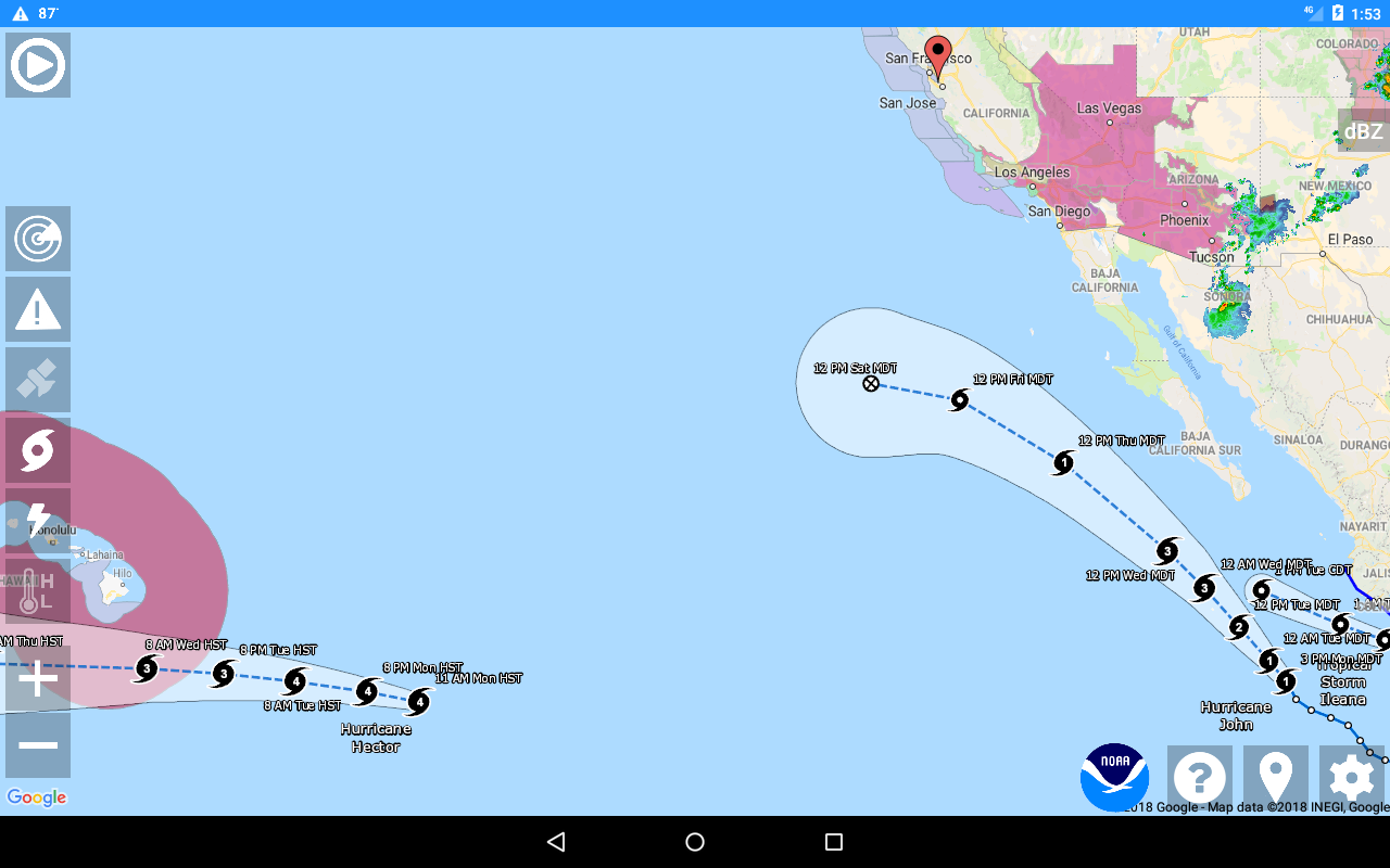 National Weather Service NOW 2 3 1 APK Download - Android Weather Apps