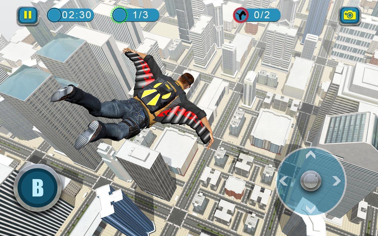 Wingsuit Simulator 3D - Skydiving Game 12 8 APK Download - Android