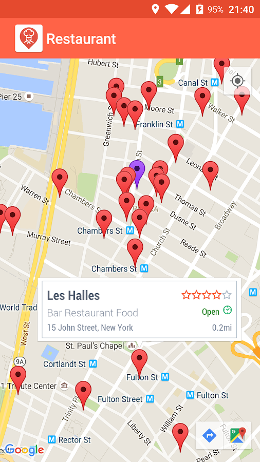 Restaurant Finder Apk