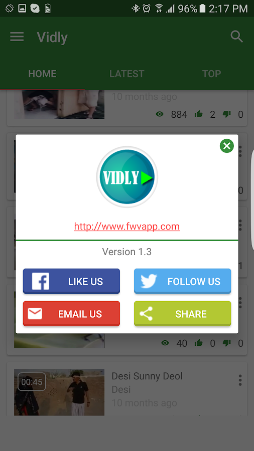 Vidly 1 3 APK Download - Android Entertainment Apps