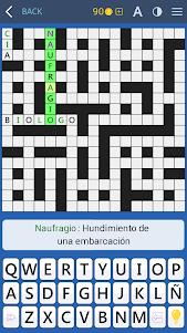 Crosswords - Spanish version (Crucigramas) 1.1.8 screenshot 9
