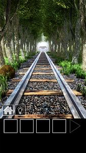脱出ゲーム 電車のある道 1.21 screenshot 1