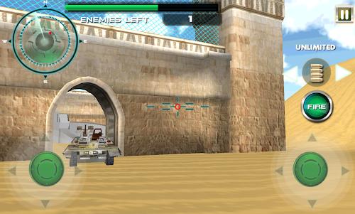 Borderlines Tank Battles Arena 1.1 screenshot 1