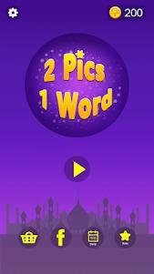 2 Pics 1 Word - Guessing Word 2.7 screenshot 1