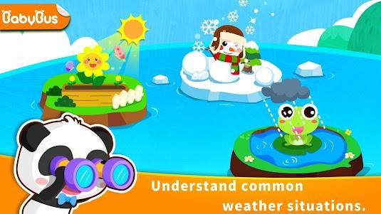 Baby Panda's Learning Weather 8.36.00.07 screenshot 1