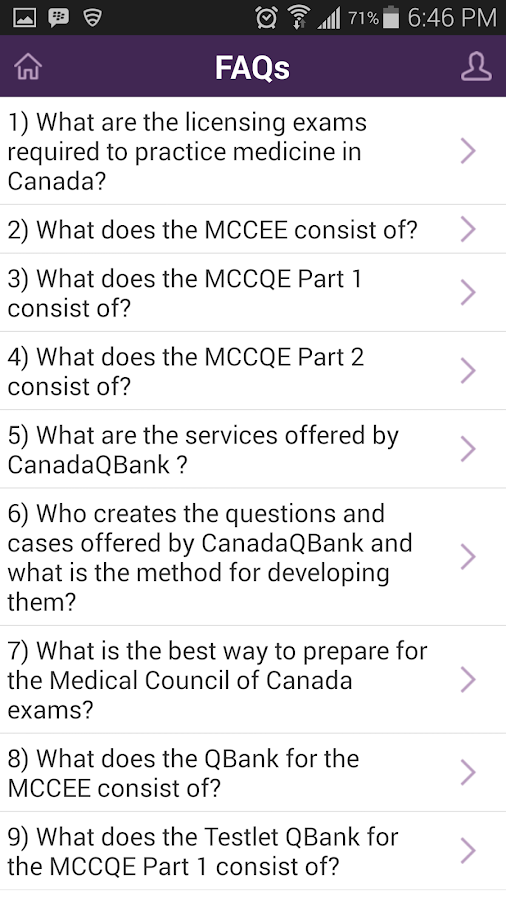 MCCEE QBank 1 0 3 APK Download - Android Medical Apps