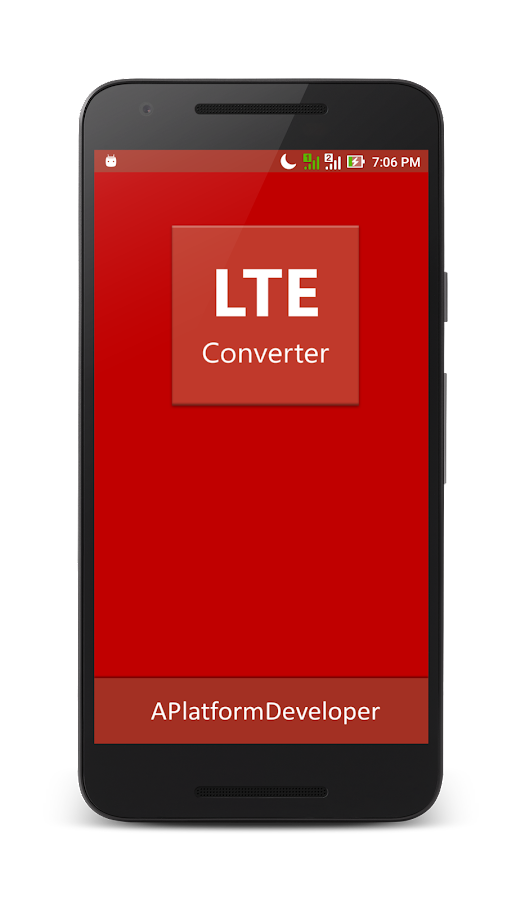 LTE Converter 3G To 4G 1 2 APK Download - Android Tools Apps