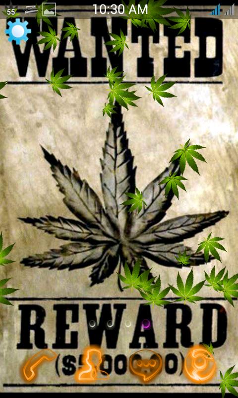 Weed Rasta Live Wallpaper 12 Screenshot 2
