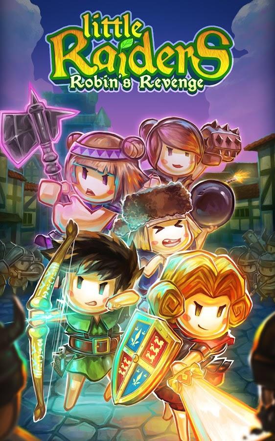Little Raiders Robin's Revenge 1 0 5 APK Download - Android