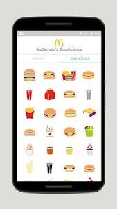 McDonald's Émoticônes 1.3 screenshot 2