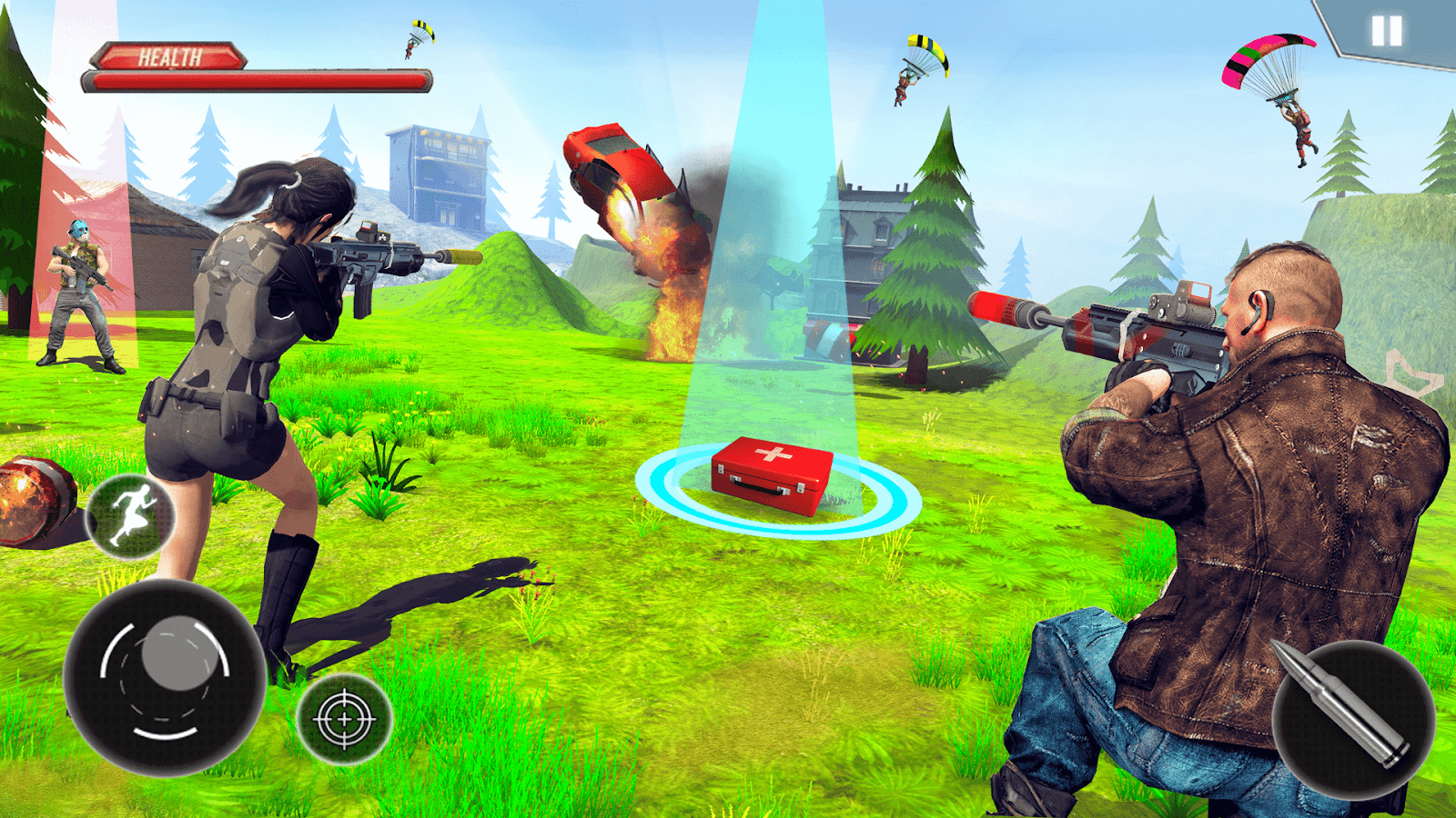 Firing Squad Fire Battleground Shooting Game 4 0 APK