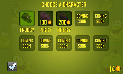 Froggy Run 1.1 screenshot 2