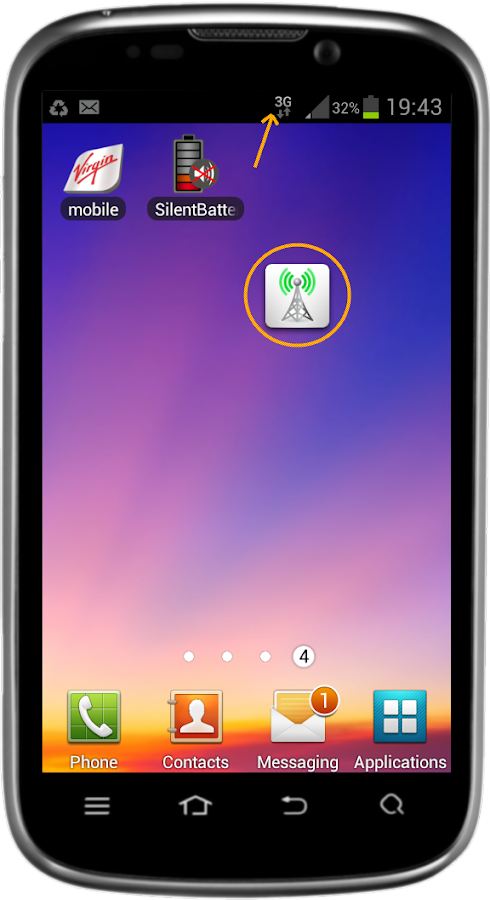 Switch On/Off 2G, 3G, 4G, LTE 2 6 APK Download - Android Tools Apps