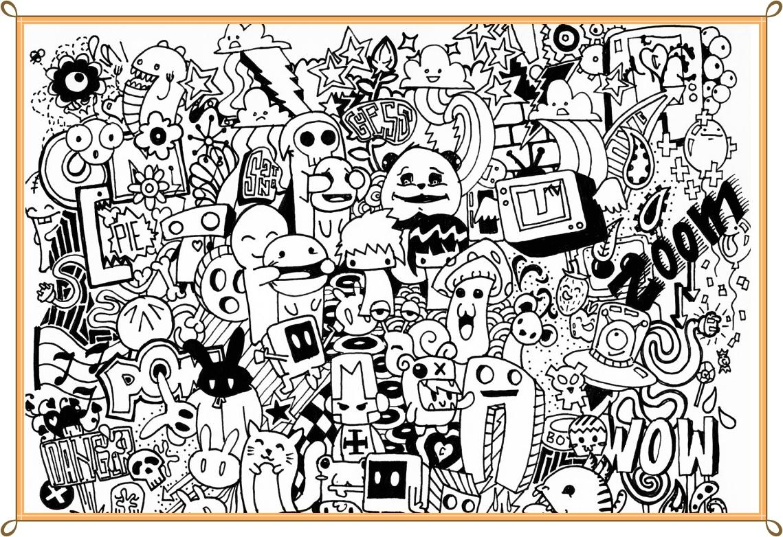 Doodle Art Design Ideas 11 Screenshot 5