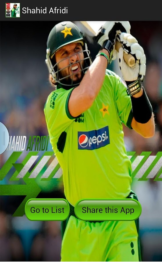Shahid Afridi - Boom Boom 1 2 APK Download - Android Sports Games