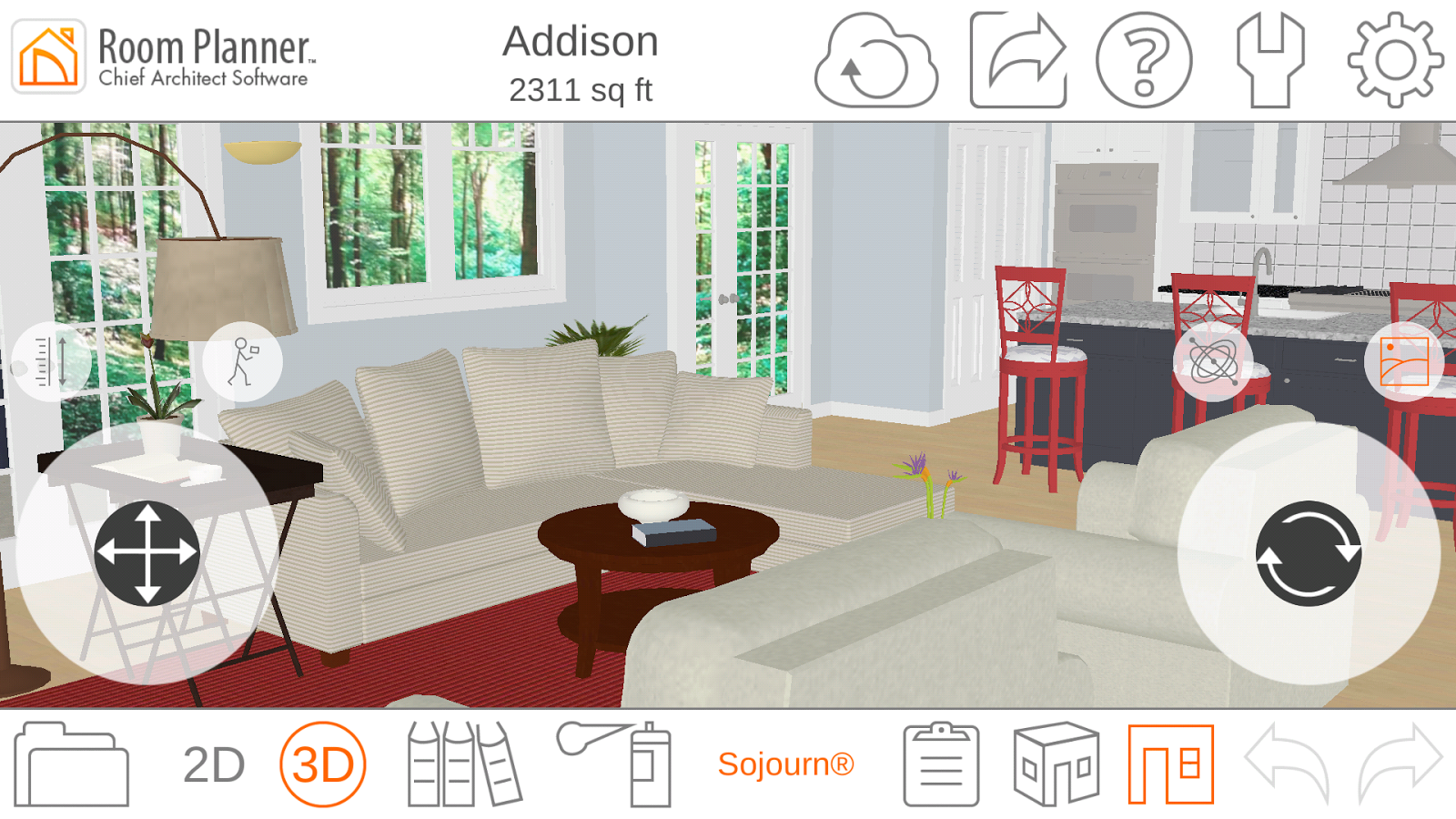 Room planner le home design 4 3 0 apk download android for Room planner software free download