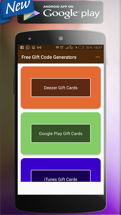 Google Play Gift Card Code Generator Apk - Gift Ideas