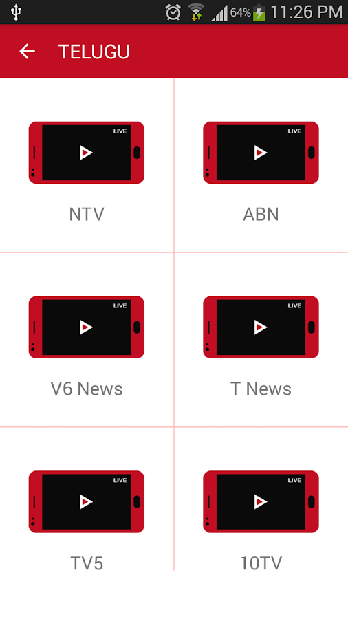 Mobile Indian Live TV Pro 1 1 APK Download - Android Entertainment Apps