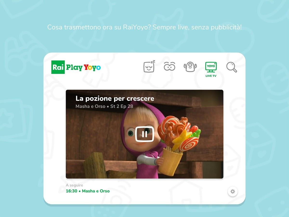 Raiplay yoyo 1.0.2 apk download android cats.parenting apps