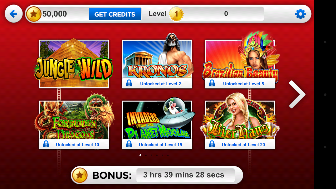 Casino slot free credit