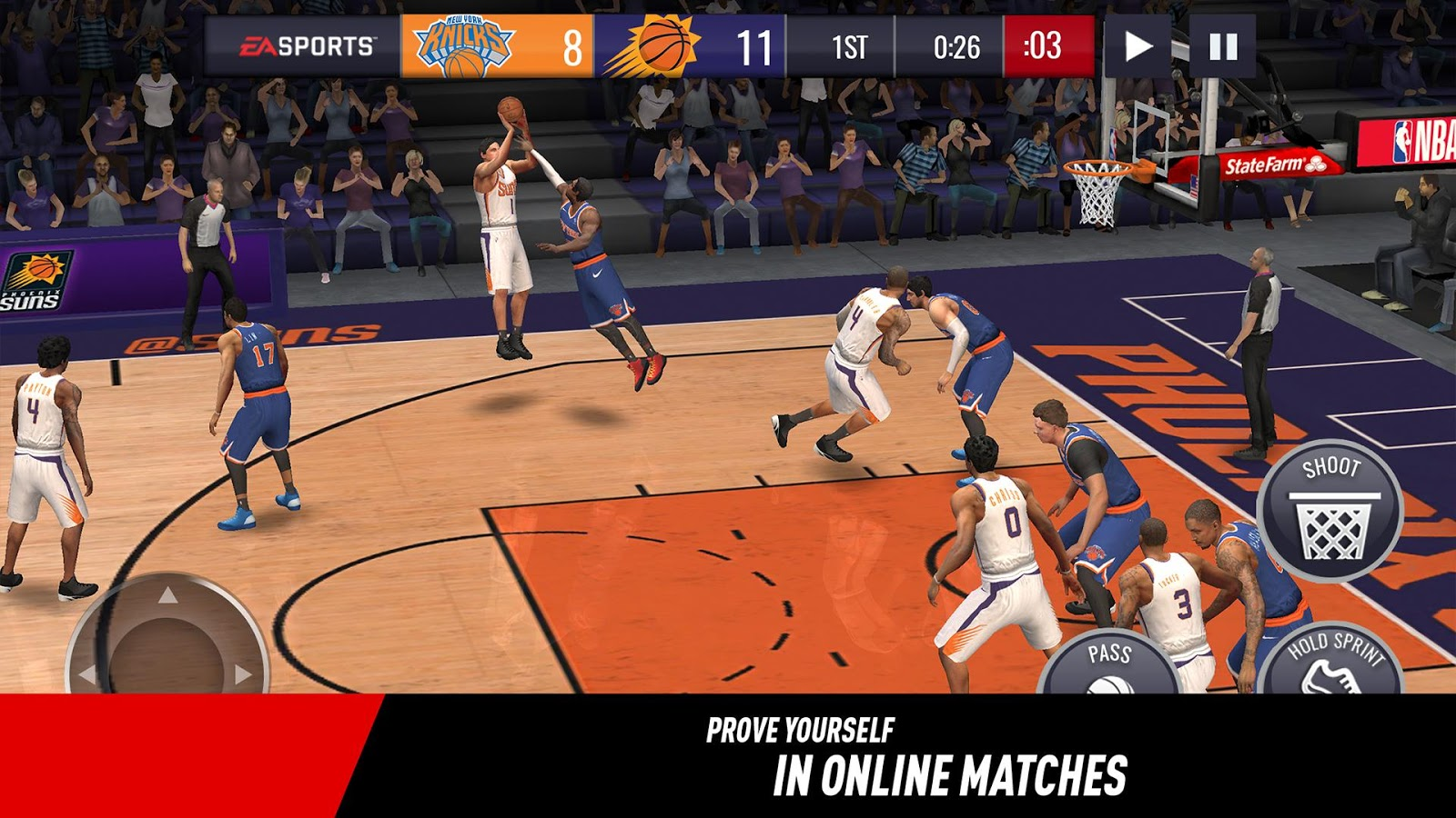Image result for nba live mobile basketball 3.0.01 apk
