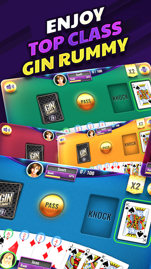 Gin Rummy 2 2 1 APK Download - Android Card Games