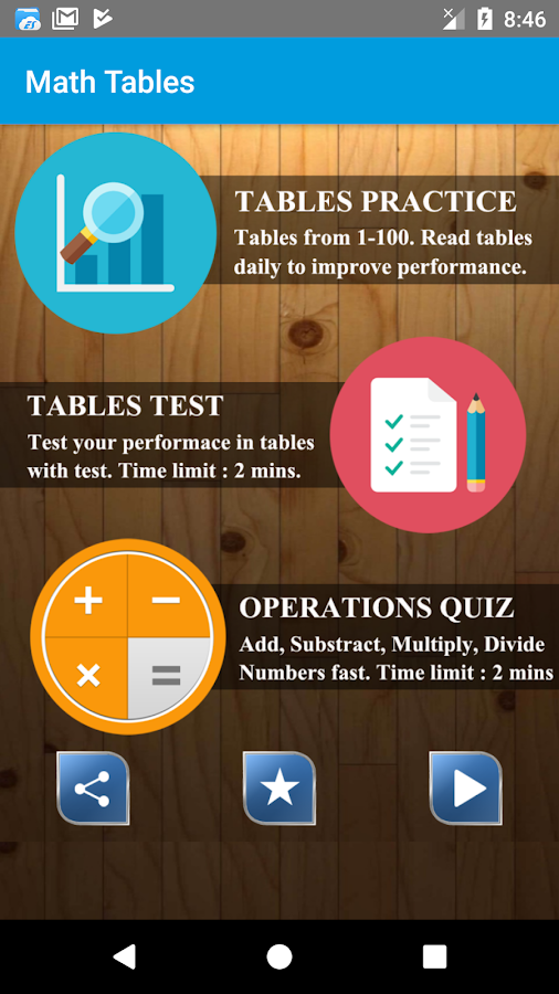 Math Tables & Test (1 - 100) 1 10 APK Download - Android