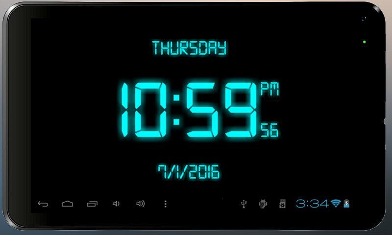 Digital Clock Live Wallpaper 3 1 APK Download - Android