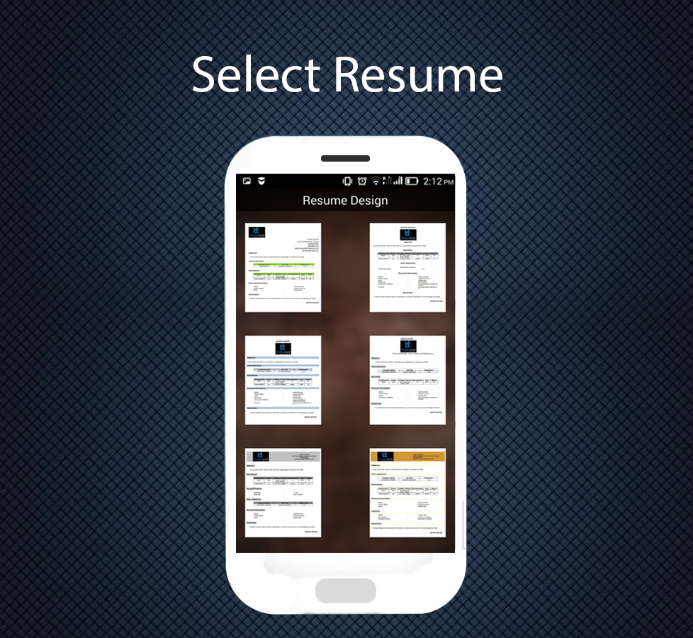 Professional Resume Maker 1.3 screenshot 2
