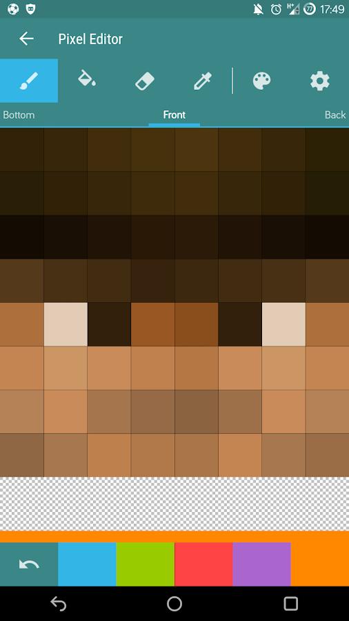 Skin Editor For Minecraft PE Beta APK Download Android Tools Apps - Skins para minecraft pe descargar