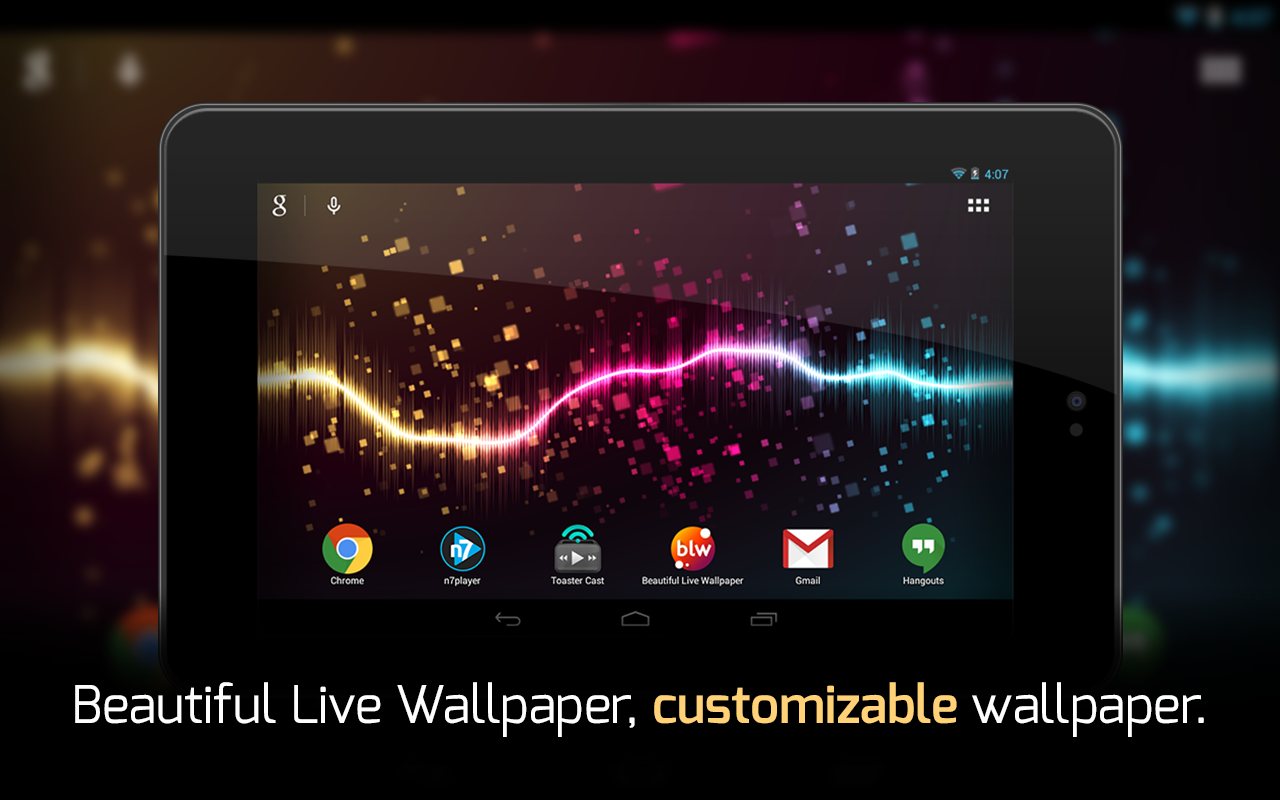 Blw music visualizer wallpaper 1 0 9 apk download for Decor live beautiful app