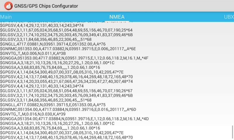 U-blox GNSS/GPS Chips Configurator 1 1 8 1 APK Download - Android