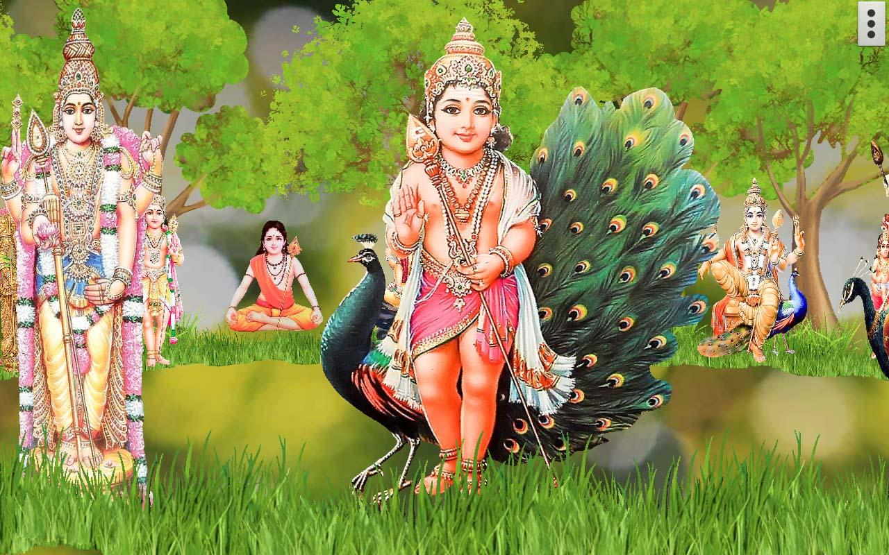 4d lord murugan live wallpaper 31 screenshot 1