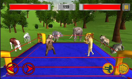 Real Animal Ring Fighting 1.0 screenshot 1