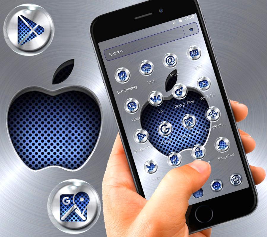 Metallic Apple Launcher Theme 🍏 1 1 1 APK Download