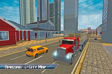 Transport Truck USA Driver SIM 1.0 screenshot 7