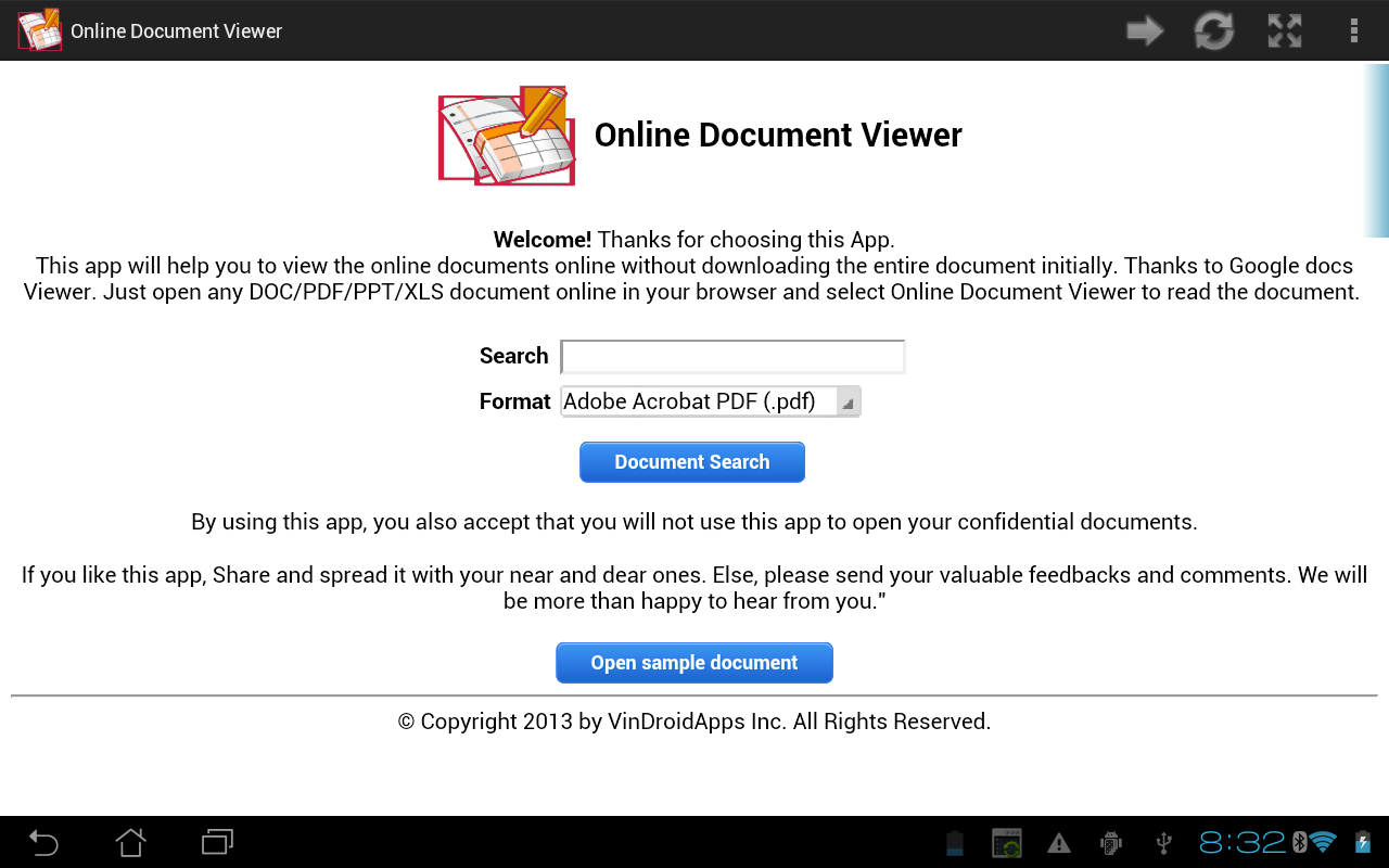 Online Document Viewer 1 5 APK Download - Android