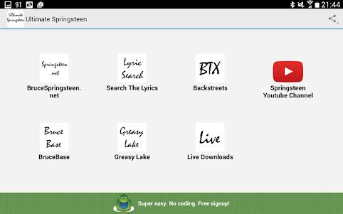 Ultimate Springsteen 1.0 screenshot 4