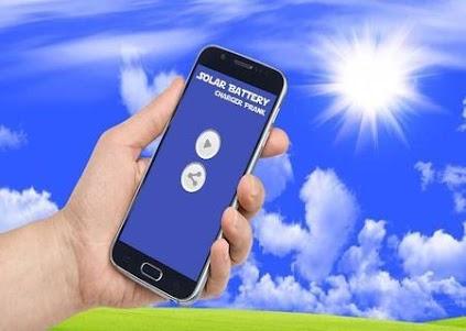 Solar Mobile Charger Prank 9.0 screenshot 6