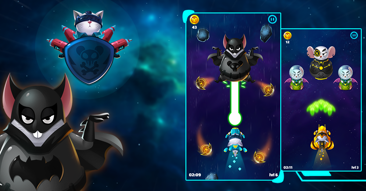 Cat Invaders - Galaxy Attack Space Shooter 1 0 APK Download