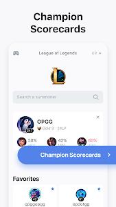 OP.GG for League/ PUBG/ Overwatch 5.1.2 screenshot 2