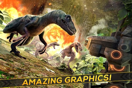 Dino-Robot! Future War 3D Game 1.0.0 screenshot 2