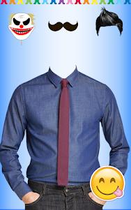 Men Shirt With Tie Photo Suit Maker 1.0.9 screenshot 10