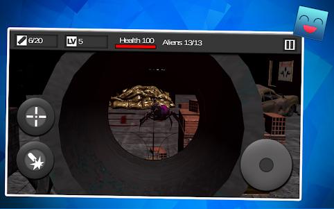 Free Shooter Alien War 1.1 screenshot 2