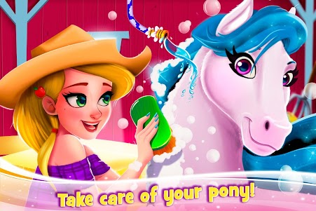 Newborn Horse Pet Care - Baby Foal Animal Salon 1.0.0 screenshot 2