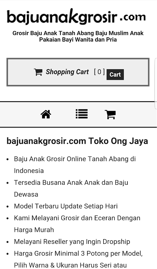 Baju Anak Grosir Tanah Abang 1.0.3 APK Download - Android Shopping Apps c12f994316