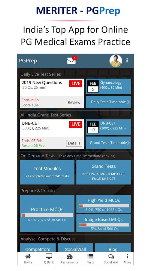 PGPrep : NEET | AIIMS | JIPMER | DNB | FMGE | PGI 12 1 4 APK