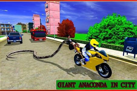 Angry Anaconda Attack Sim 3D 1.0 screenshot 1