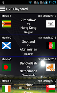 T20 Playboard 1.1 screenshot 1